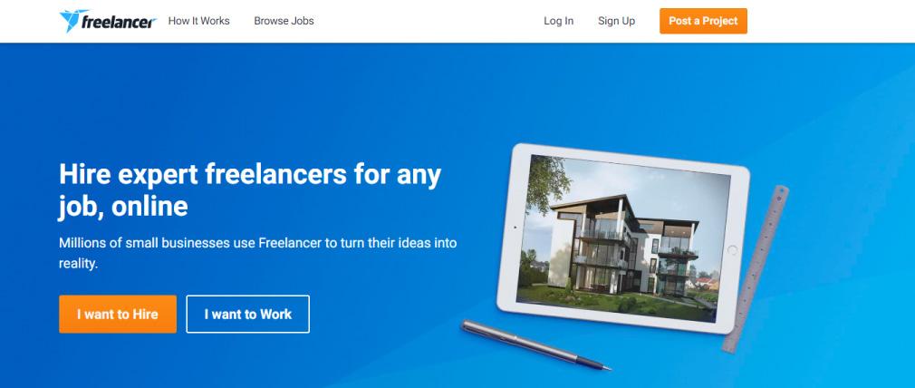 Freelancer platforma za freelance posao