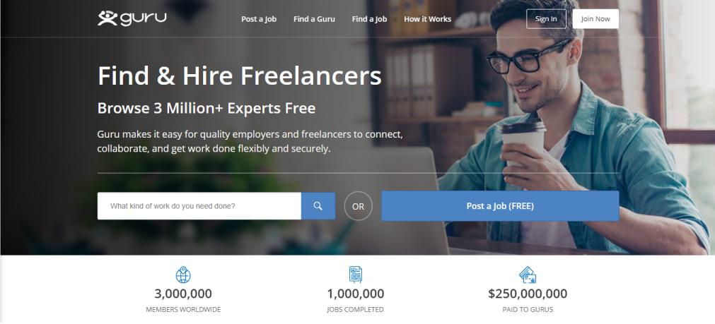 freelance posao platforma guru