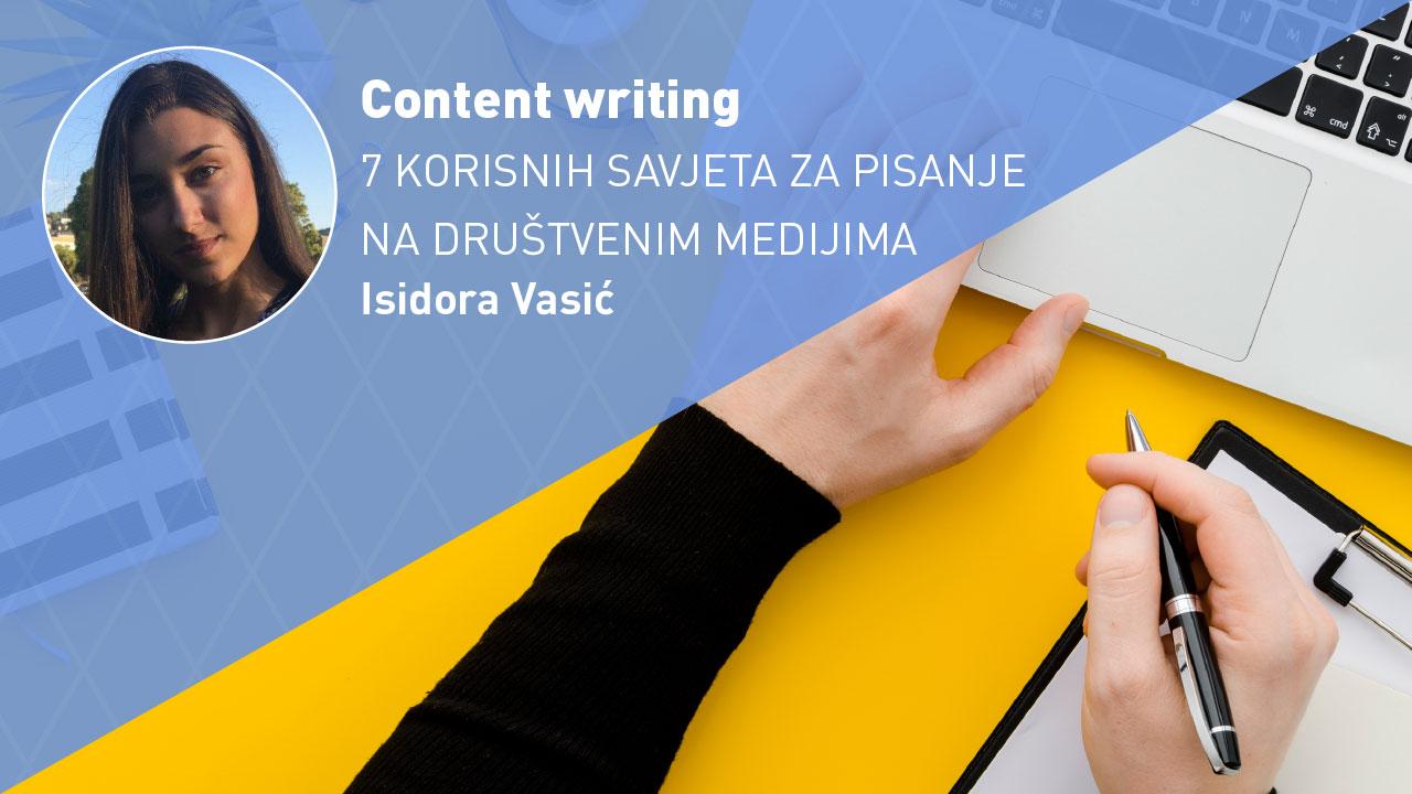 content writing - savjeti