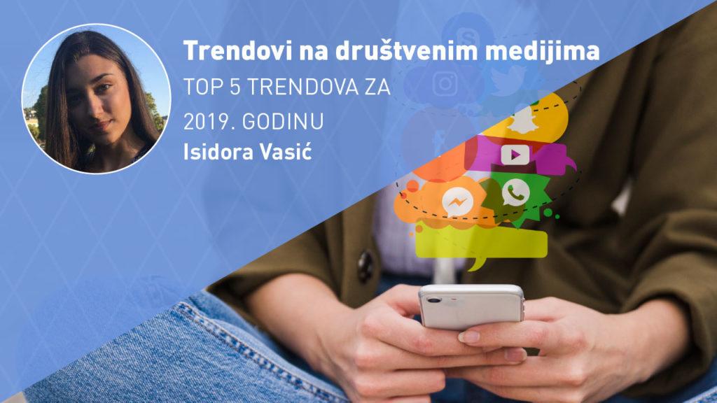 trendovi na društvenim medijima