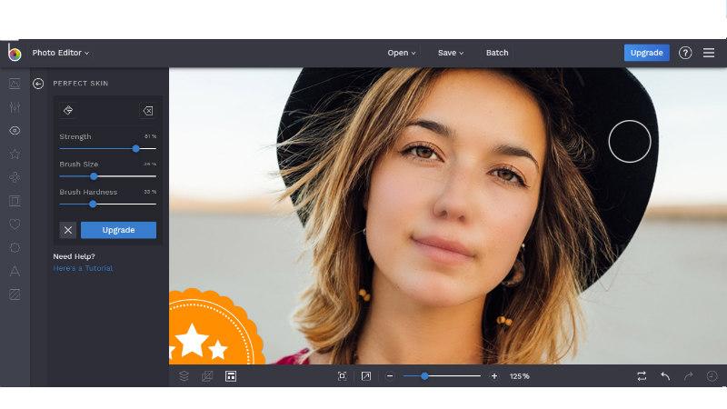 BeFunky alat za uređivanje fotografija