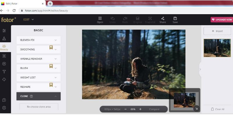 Fotor program za obradu fotografija
