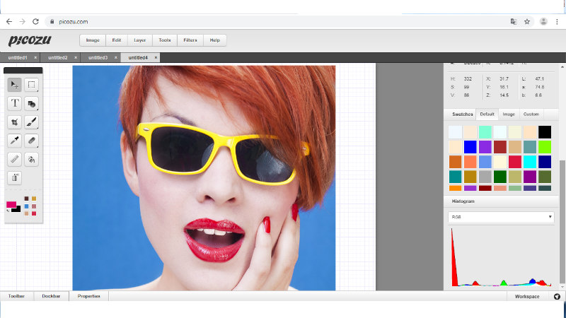 Picozu program za obradu fotografija