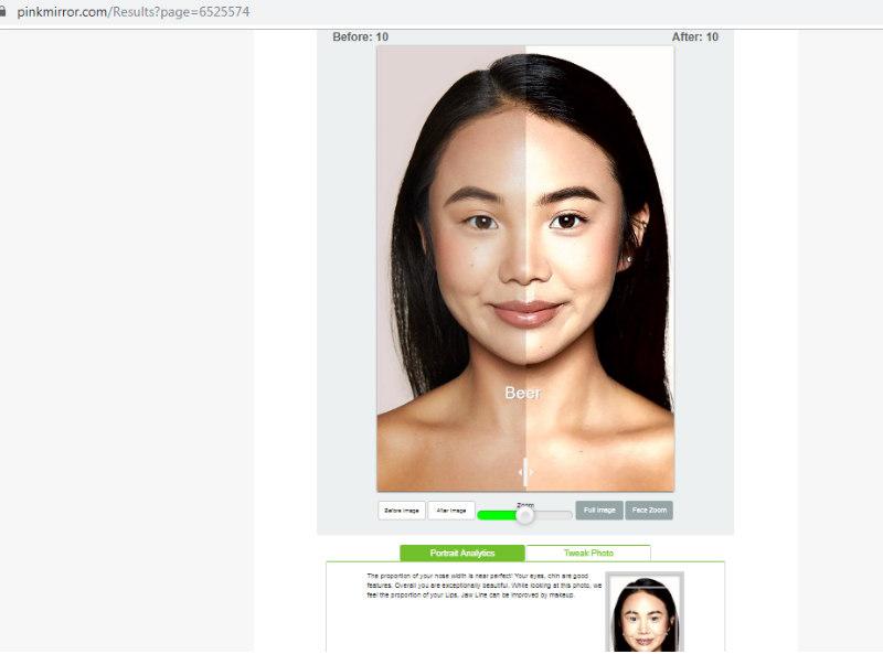Pink Mirror program za uređivanje portretnih fotografija