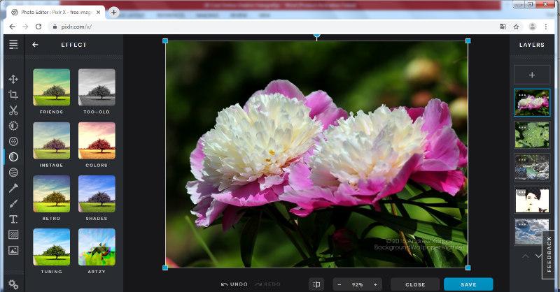 Pixlr program za obradu fotografija