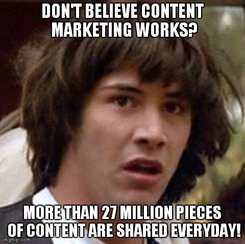content na društvenim mrežama