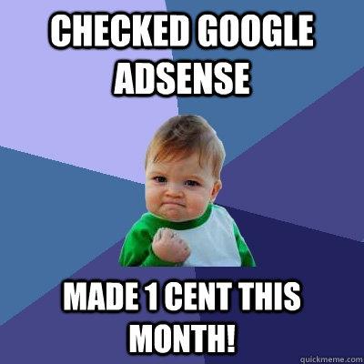 kako napraviti WordPress web sajt AdSense meme