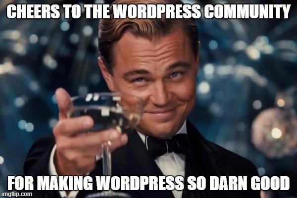 WordPress web dizajn meme