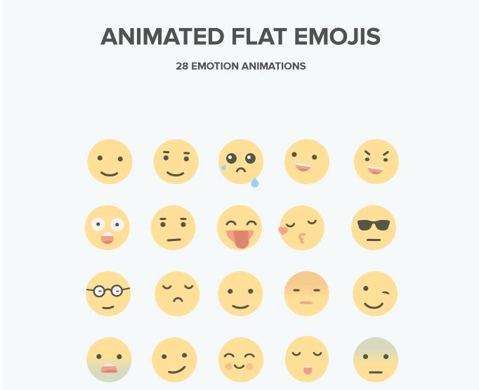 emotikoni ikonice za web dizajn