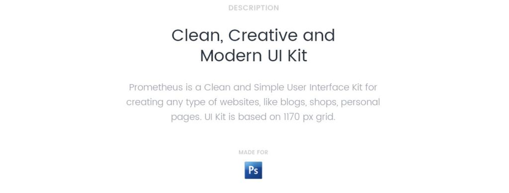 prometheus set alata za upravljanje korisničkim interfejsom