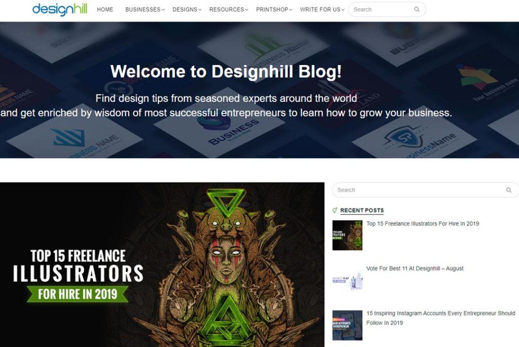 Designhill blog za grafičke dizajnere