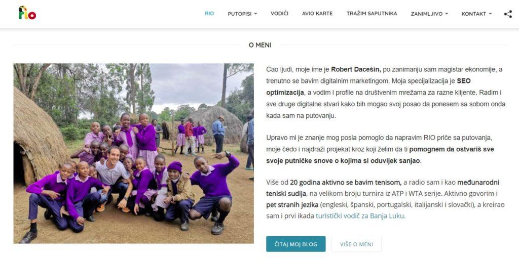 kako zaraditi novac od bloga: rio priče
