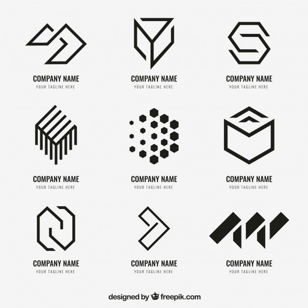 Logo dizajn trendovi za 2020. godinu - geometrijski oblik