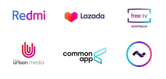 Logo dizajn trendovi za 2020. godinu - gradacija boja