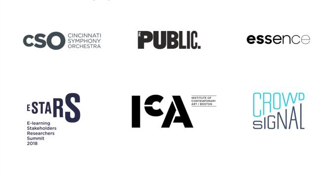 Logo dizajn trendovi za 2020. godinu - skaliranje