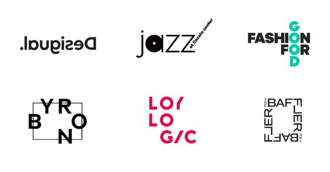 asimetričan logotip
