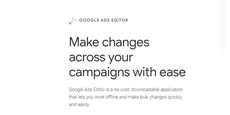 AdWords ili Ads Editor